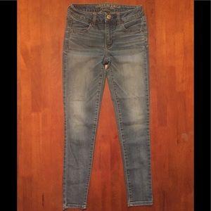 American Eagle Super Stretch skinny jeans 0 short